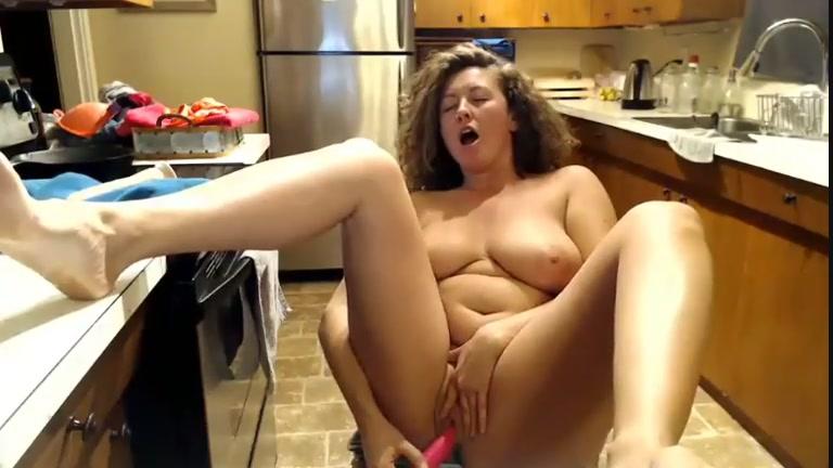 Big Tit Dildo Riding Orgasm